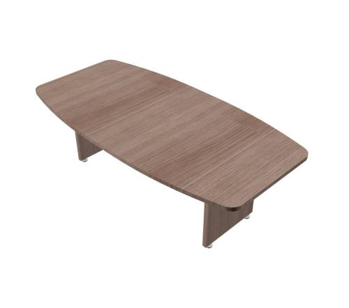 Tavolo Riunione Ovale gamba legno - 00