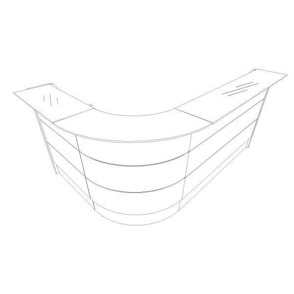 Reception Direzionale angolo 90 Grafico