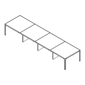 Tavolo Riunione 4 moduli - Copertina
